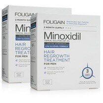 foligain minoxidil hair regrowth treatment