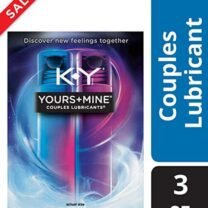Lubricant for Him and Her K Y Yours Mine Couples Lubricant 3 oz CONTRACEPTIVE GEL