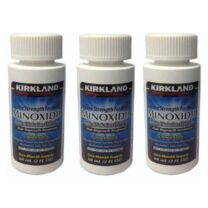 KIRKLAND MINOXIDIL 5% FOR MEN 3 x 60ml Bottles Three Month Supply