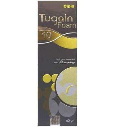 Tugain 10% Foam By Cipla For hair Loss Treatment
