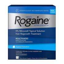 Men's Rogaine Minoxidil 5% Extra Strength Topical Solution Four month supply