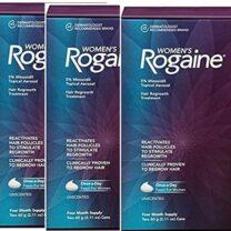 Women's Rogaine 5% Minoxidil Unscented Foam 12 Month Supply