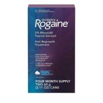 Women's Rogaine 5% Minoxidil Unscented Foam Four month Supply
