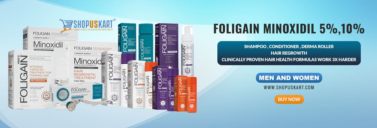 Foligain minoxidil shopuskart