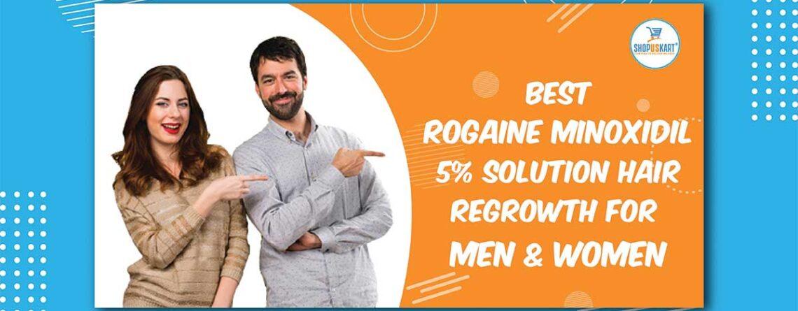 Best Rogaine Minoxidil 5% Solution